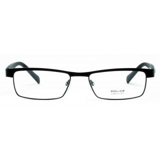 a6812464a73 Quick Shop. Police VPL237K 0531 52-16 Medium Black Unisex Premium Eyeglasses