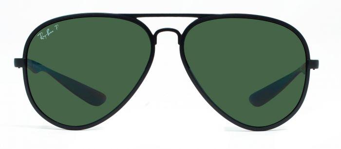 ab0eab48e54 Ray-Ban RB4180 601 S 94 Large Matte Black Unisex Polarized Sunglasses