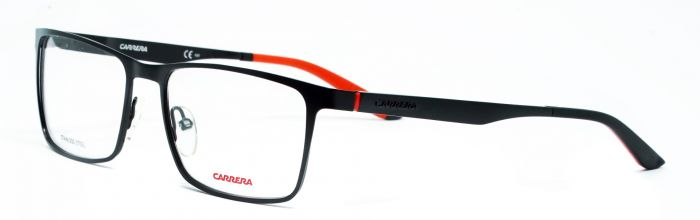 889ad2f46a4 Carrera CA8811 003 55-17 Medium Black Unisex Premium Eyeglasses