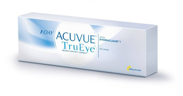 e64f0bf9b720b 1-Day Acuvue TruEye Contact Lenses (30 Lens per Box)